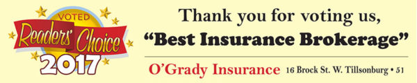 Readers Choice Tillsonburg Insurance Brokerage